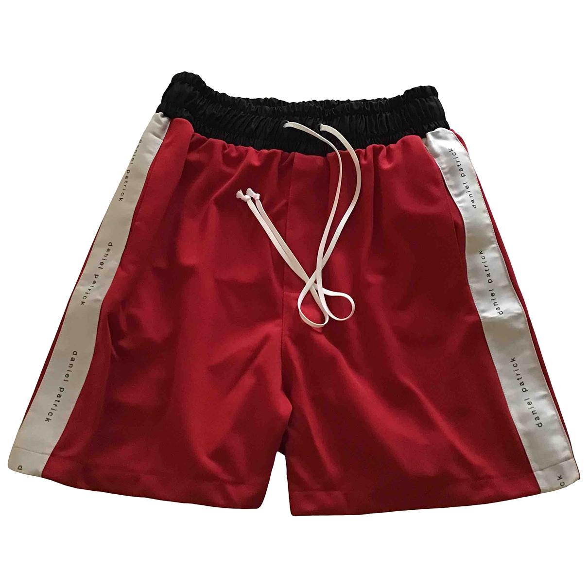 Daniel Patrick \N Shorts in  Rot Polyester