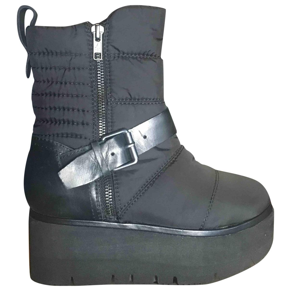 Ash - Boots   pour femme - noir
