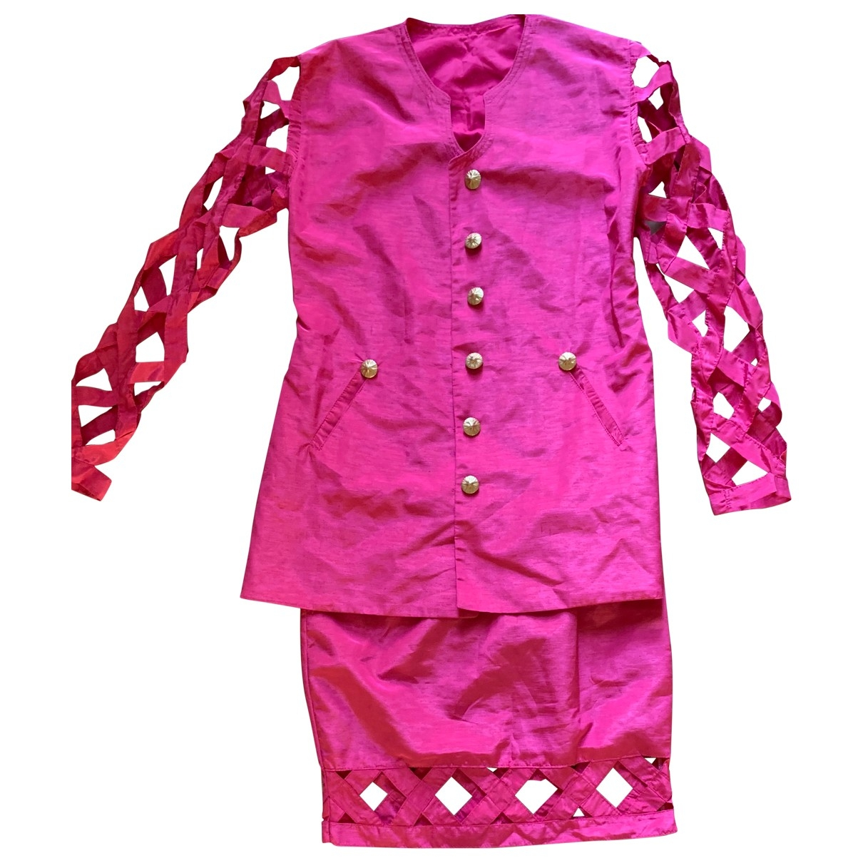 Non Signé / Unsigned \N Pink jacket for Women S International