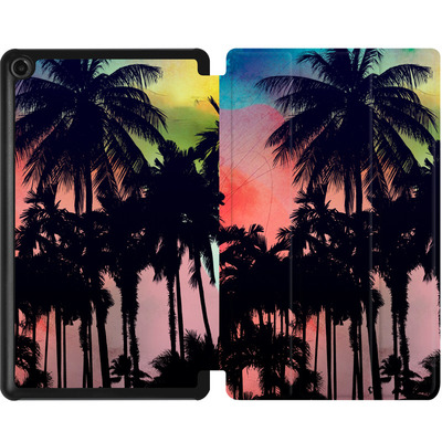 Amazon Fire 7 (2017) Tablet Smart Case - Palm Trees at Sunset von Mark Ashkenazi