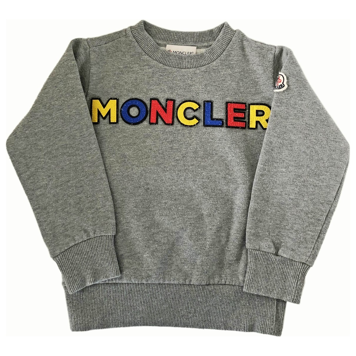 Moncler \N Grey Cotton Knitwear for Kids 4 years - up to 102cm FR
