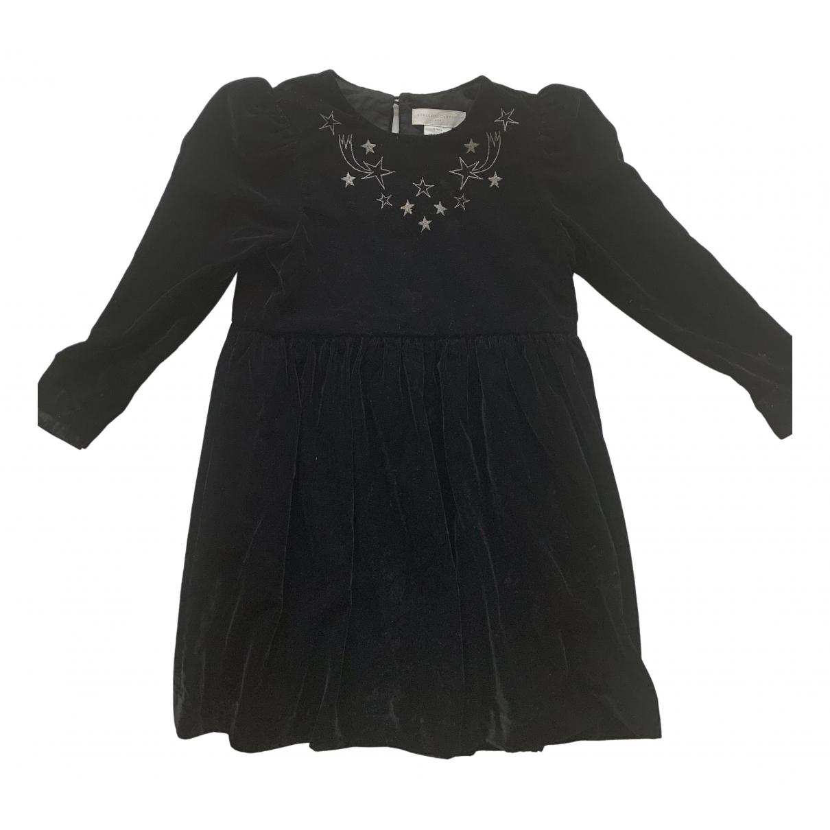 Stella Mccartney Kids - Robe    pour enfant en velours - noir