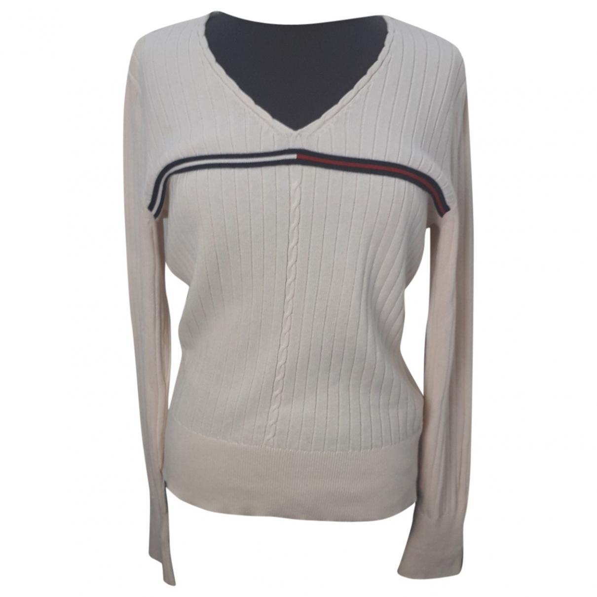 Tommy Hilfiger \N Pullover in  Weiss Baumwolle