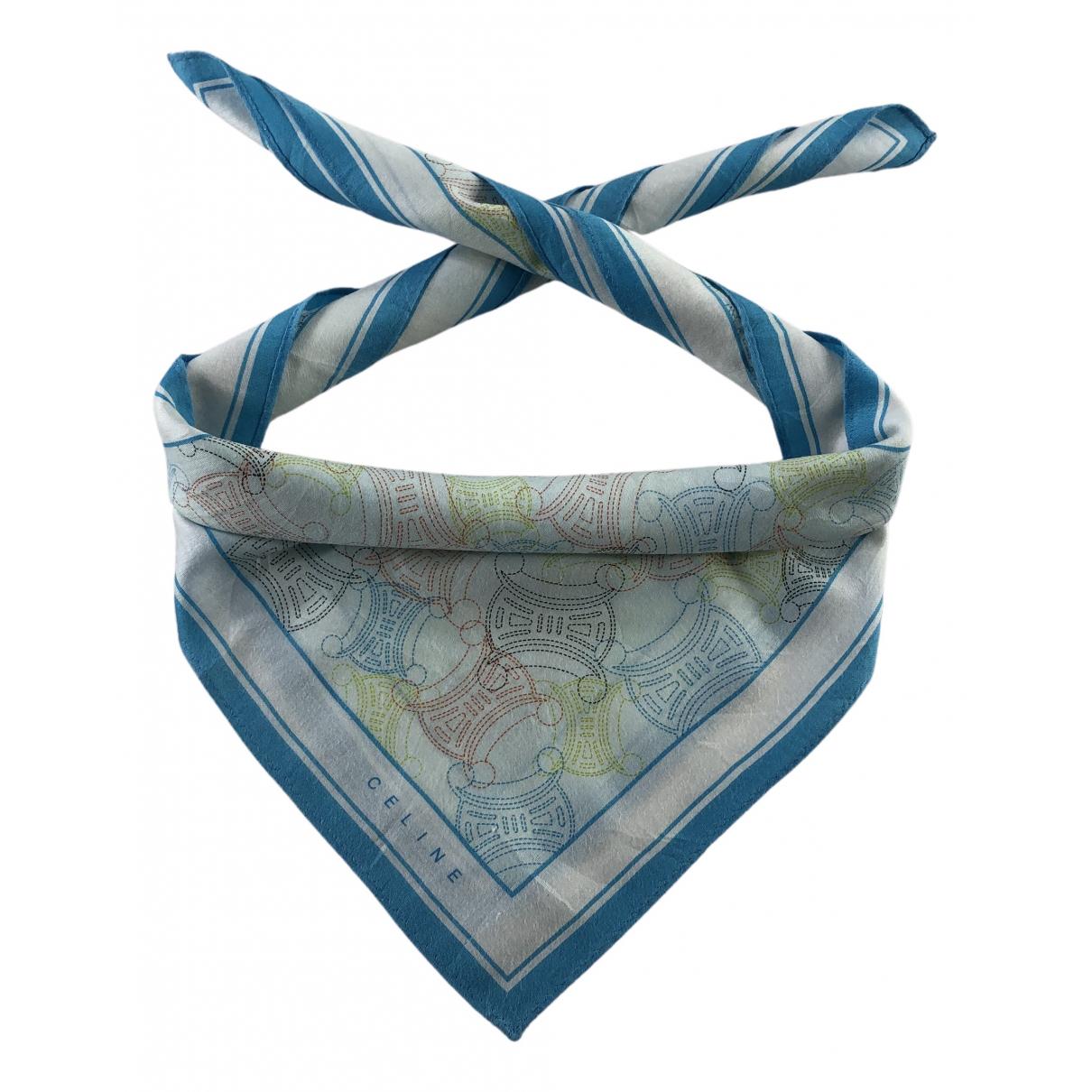 Celine N Multicolour Cotton Silk handkerchief for Women N