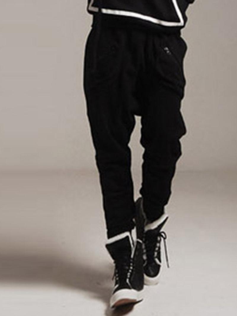 Ericdress Plain Men's Casual Pants