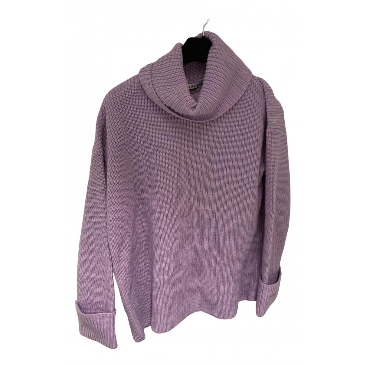 Alice & Olivia \N Purple Wool Knitwear for Women S International