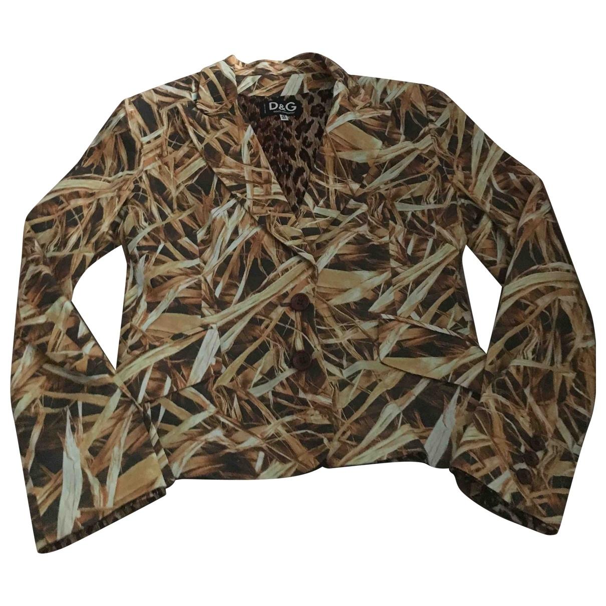 D&g \N Multicolour Cotton jacket for Women 46 IT