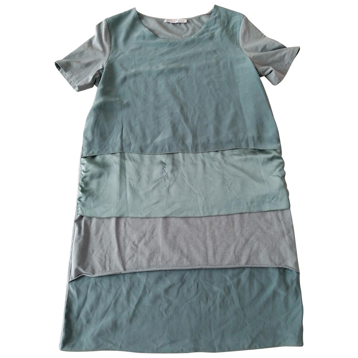 Fabiana Filippi \N Green Cotton dress for Women 44 IT