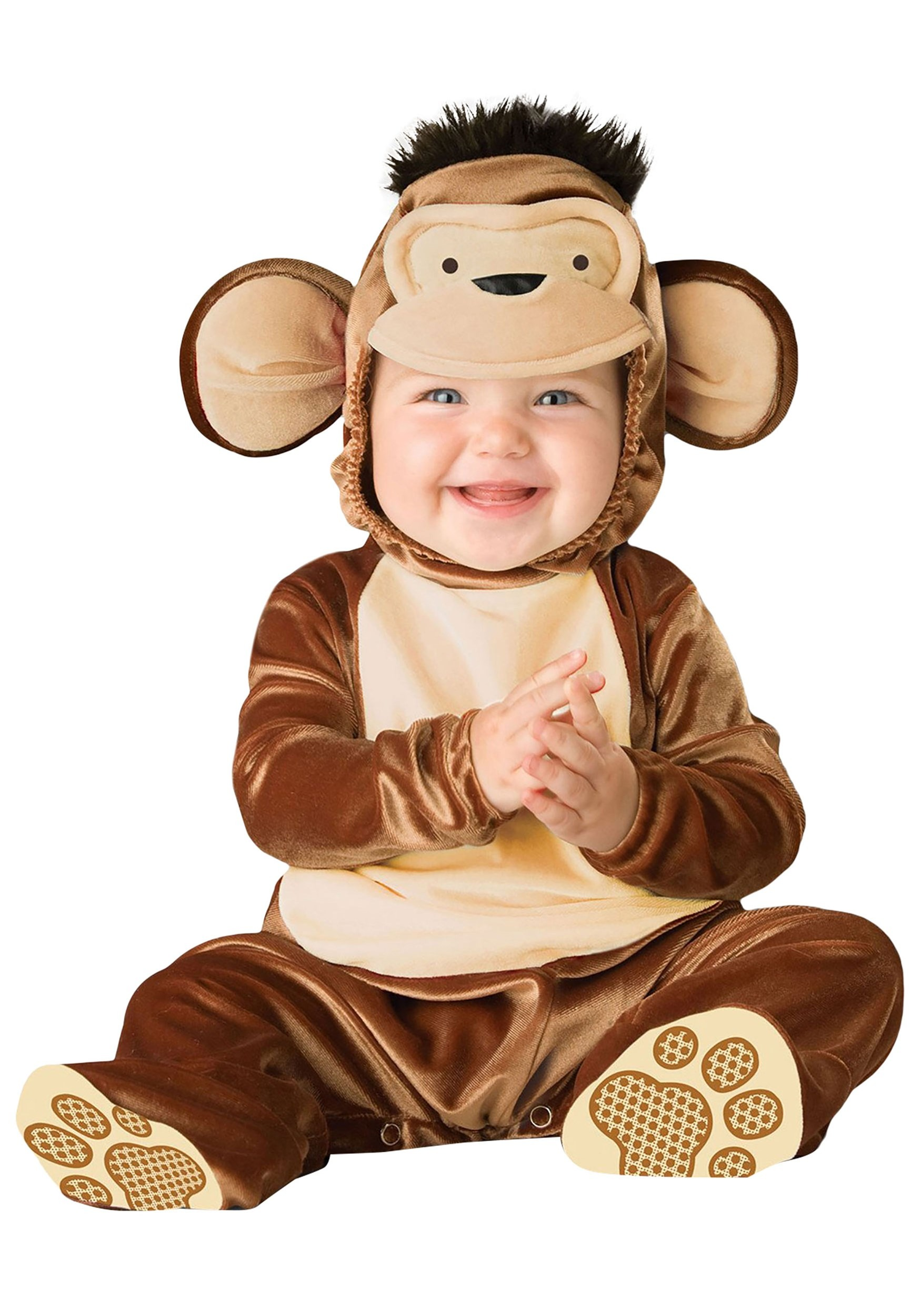Cute Infant Mischievous Monkey Costume