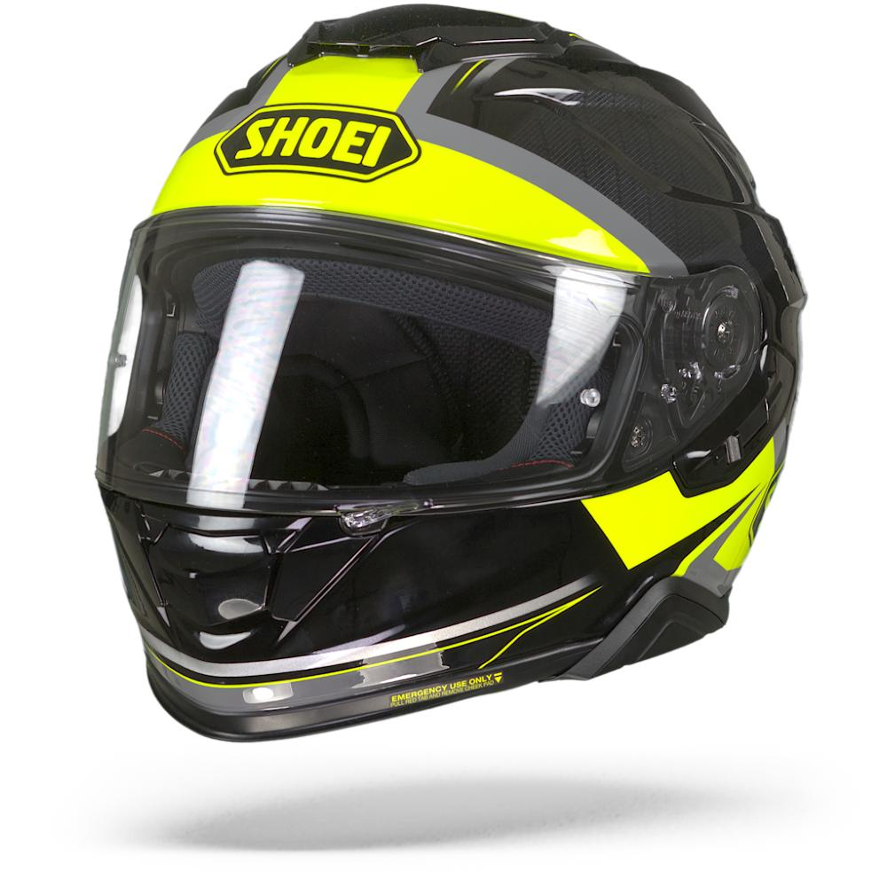 Shoei GT-Air II Affair TC-3 Casque Integral Noir Gris Jaune M