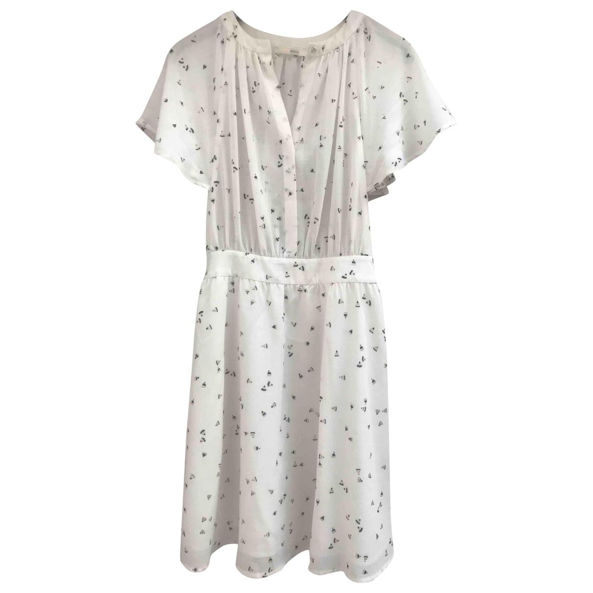 Sessun \N Kleid in  Ecru Polyester