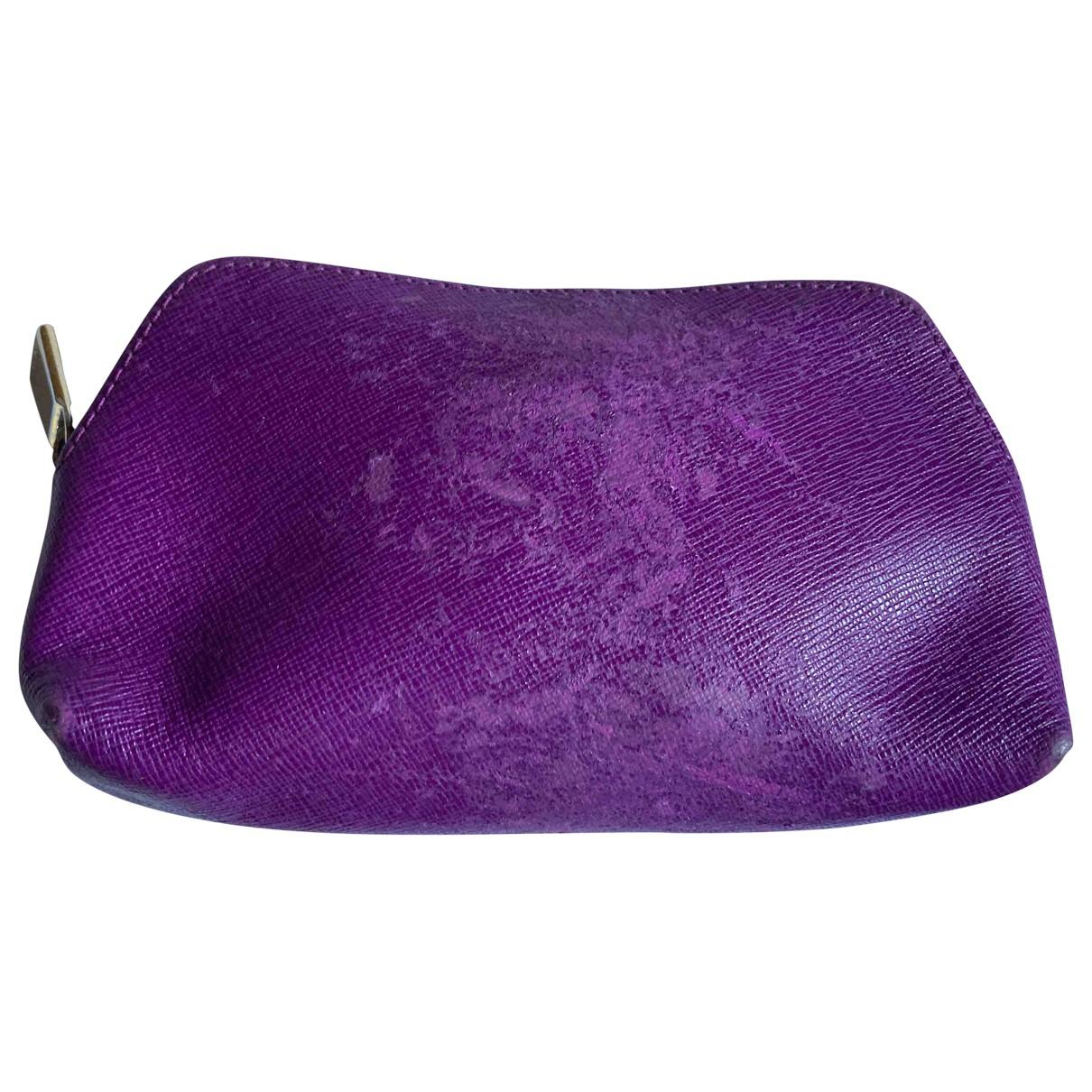 Furla \N Purple Leather Purses, wallet & cases for Women \N