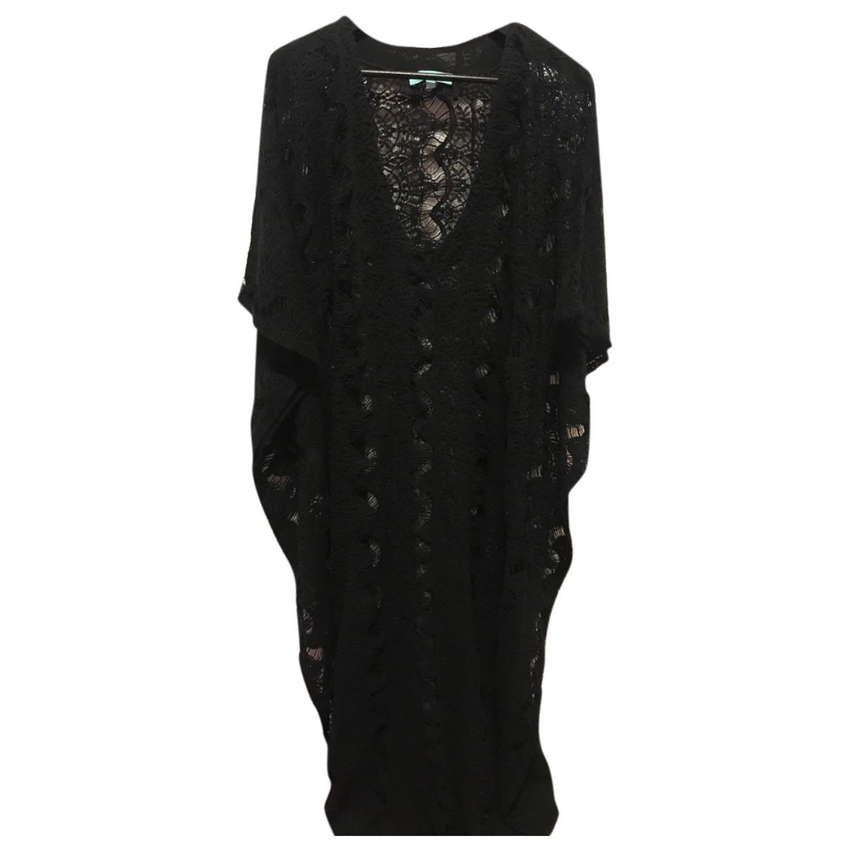 Melissa Odabash - Robe   pour femme en dentelle - noir