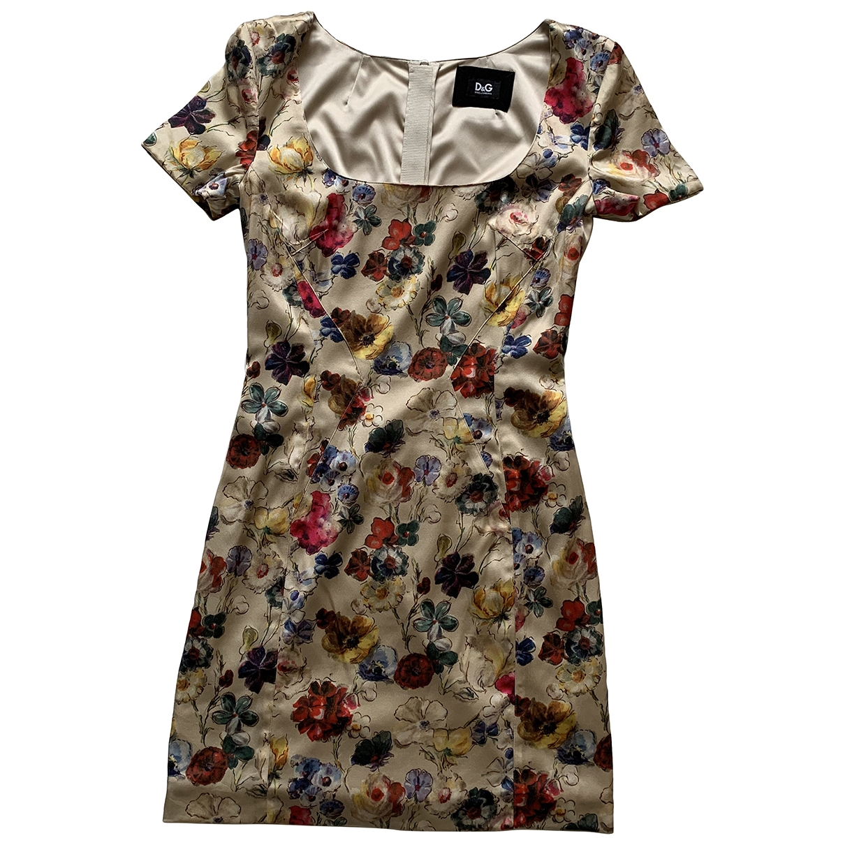 D&g \N Multicolour Silk dress for Women 40 IT