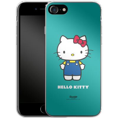 Apple iPhone 7 Silikon Handyhuelle - Hello Kitty Front von Hello Kitty