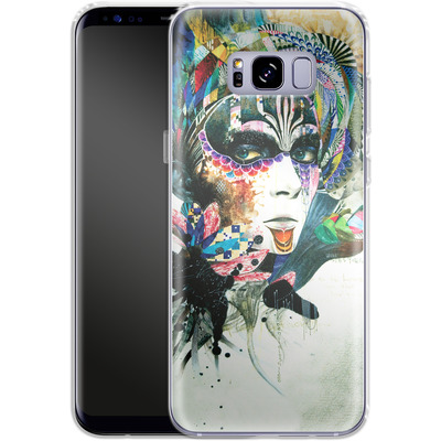 Samsung Galaxy S8 Plus Silikon Handyhuelle - Blossom Desire von Minjae Lee