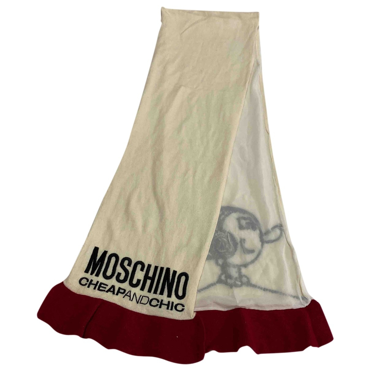 Moschino Cheap And Chic - Foulard   pour femme en laine