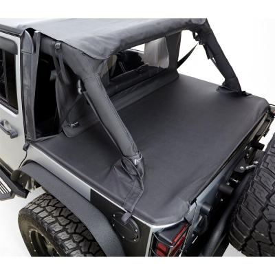 Rampage Jeep Tonneau Cover (Black Diamond) - 731135