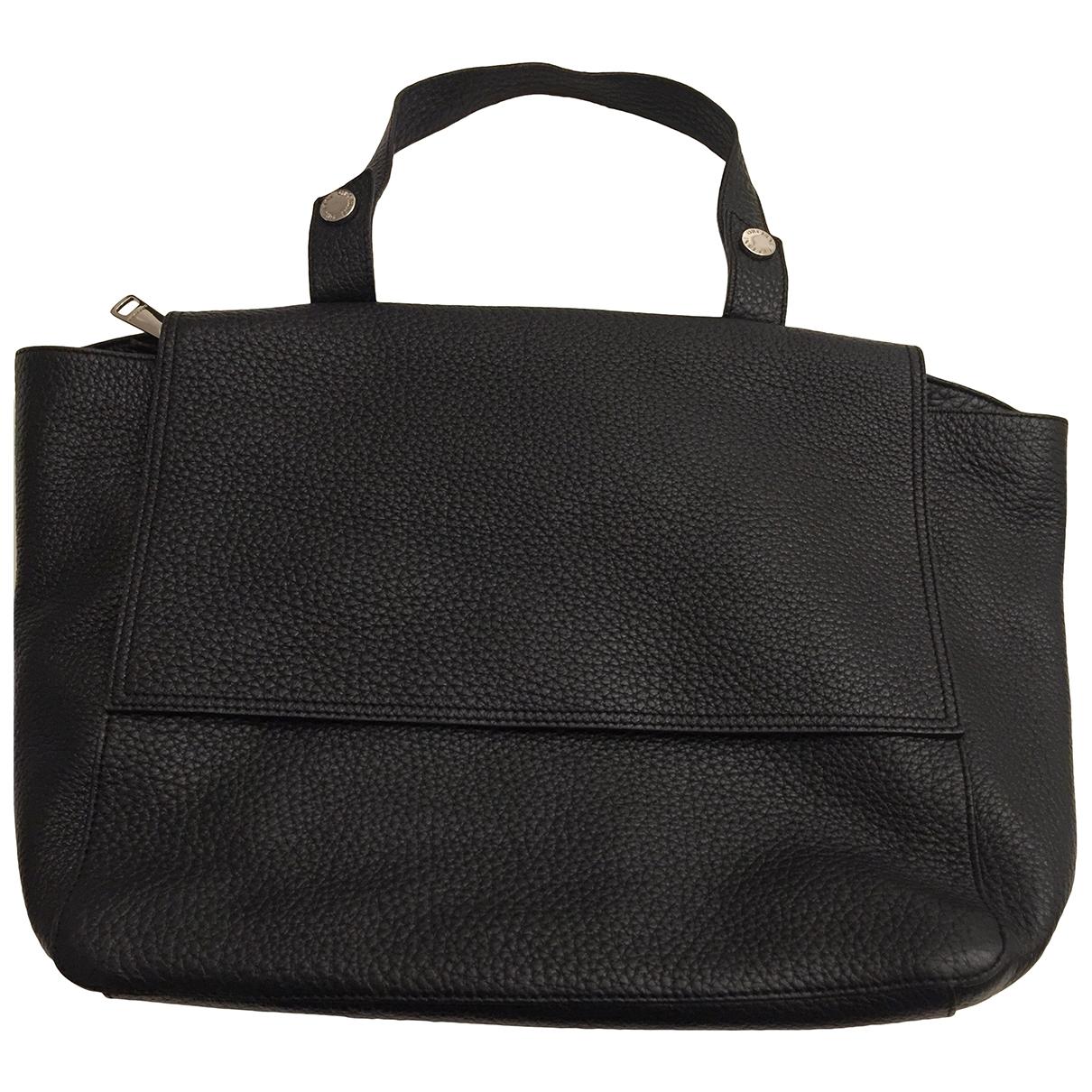 Orciani \N Black Leather handbag for Women \N