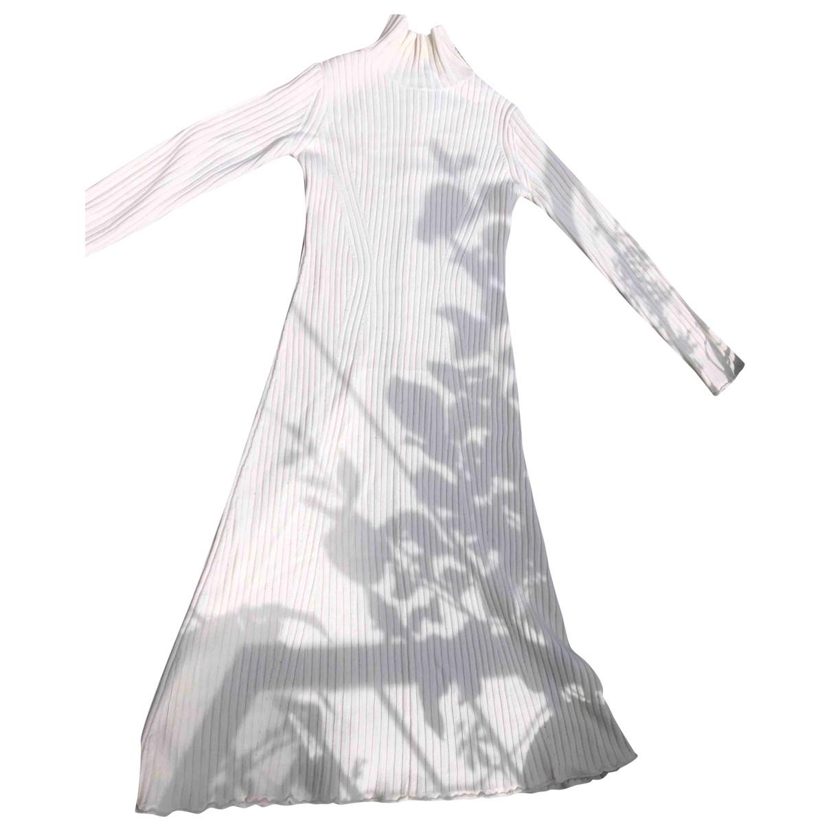 Zara \N Ecru Wool dress for Women XS International