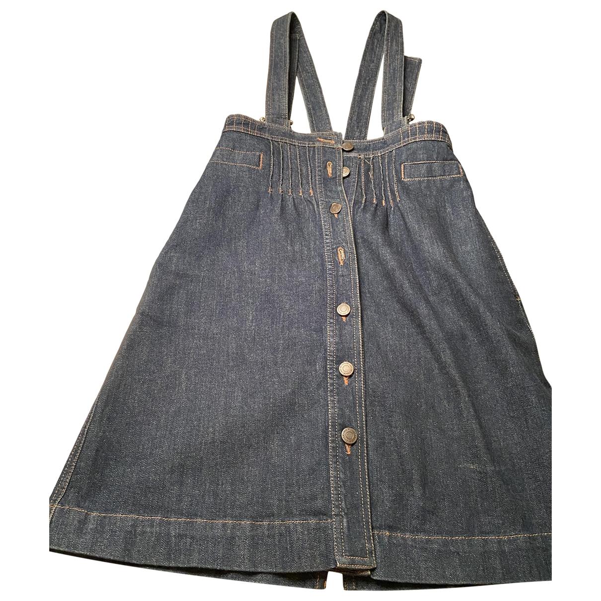 See By Chloe \N Kleid in  Blau Denim - Jeans