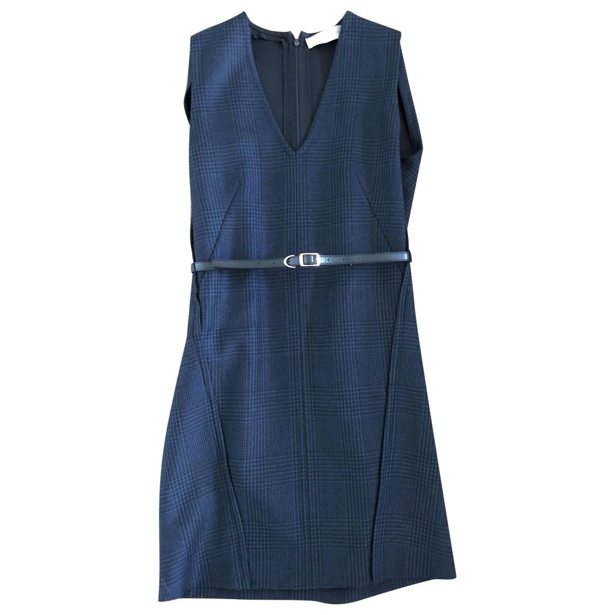 Stella Mccartney \N Kleid in  Marine Wolle