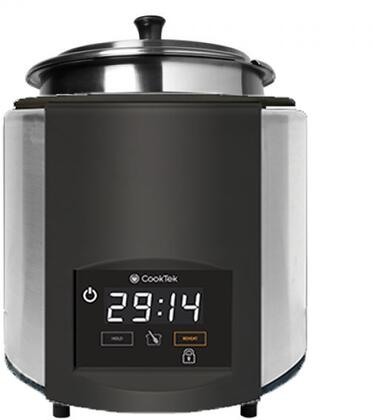 675201 SinAqua 7 Qt. Freestanding Souper with 800 Watts Induction Heating  240 Volts  Pan Compensation Technology and Capacitive Touch Control in