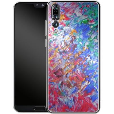 Huawei P20 Pro Silikon Handyhuelle - Macro 6 von Gela Behrmann