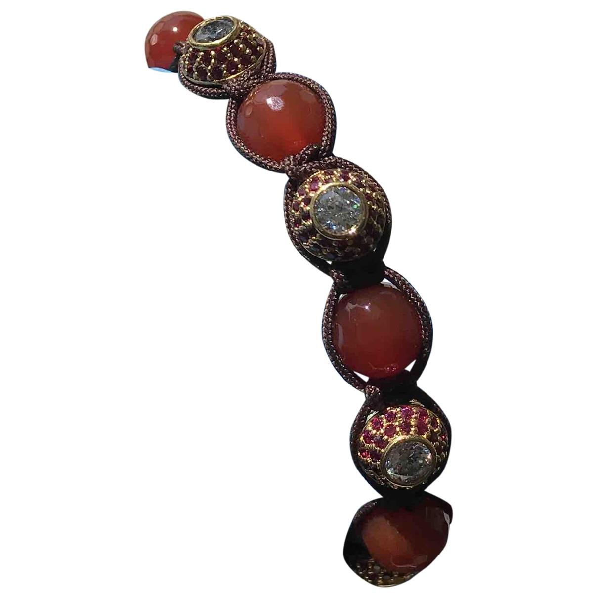 Nialaya \N Red Metal bracelet for Women \N