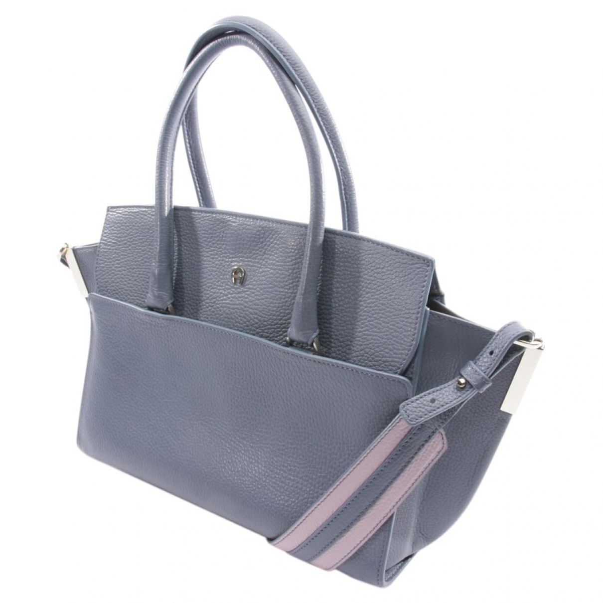 Aigner \N Blue Leather handbag for Women \N
