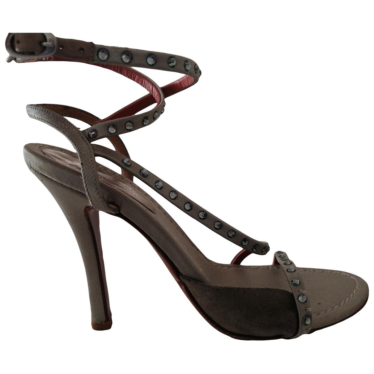 Sandalias de Lona Santoni