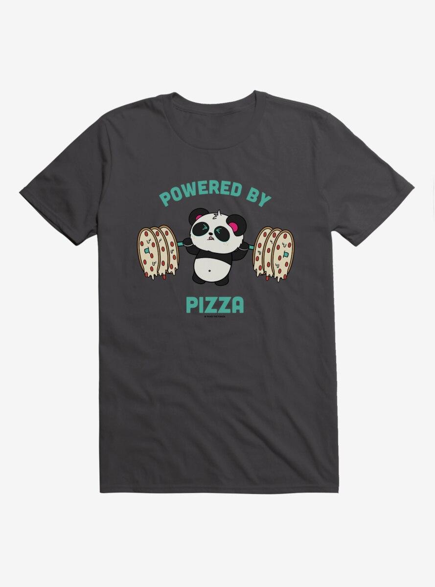 BL Creators: Hungry Rabbit Studio Pandi The Panda Powered By Pizza T-Shirt