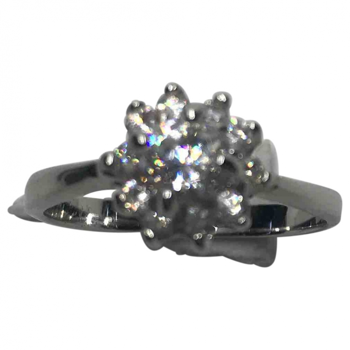 Diamonds & You \N Ring in  Silber Metall