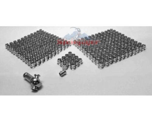 Steinjager J0014236 300 Pack HMBZC-10-8 High Misalignment Insert Plated Steel 0.625 x 0.5