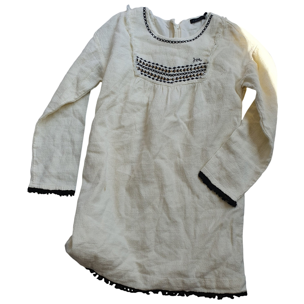 Ikks \N White Cotton dress for Kids 6 years - up to 114cm FR