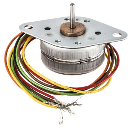 McLennan Servo Supplies Unipolar Permanent Magnet Stepper Motor 7.5°, 9.0mNm, 12 V dc, 100 mA, 6 Wires