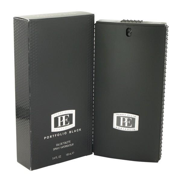 Portfolio Black - Perry Ellis Eau de toilette en espray 100 ML