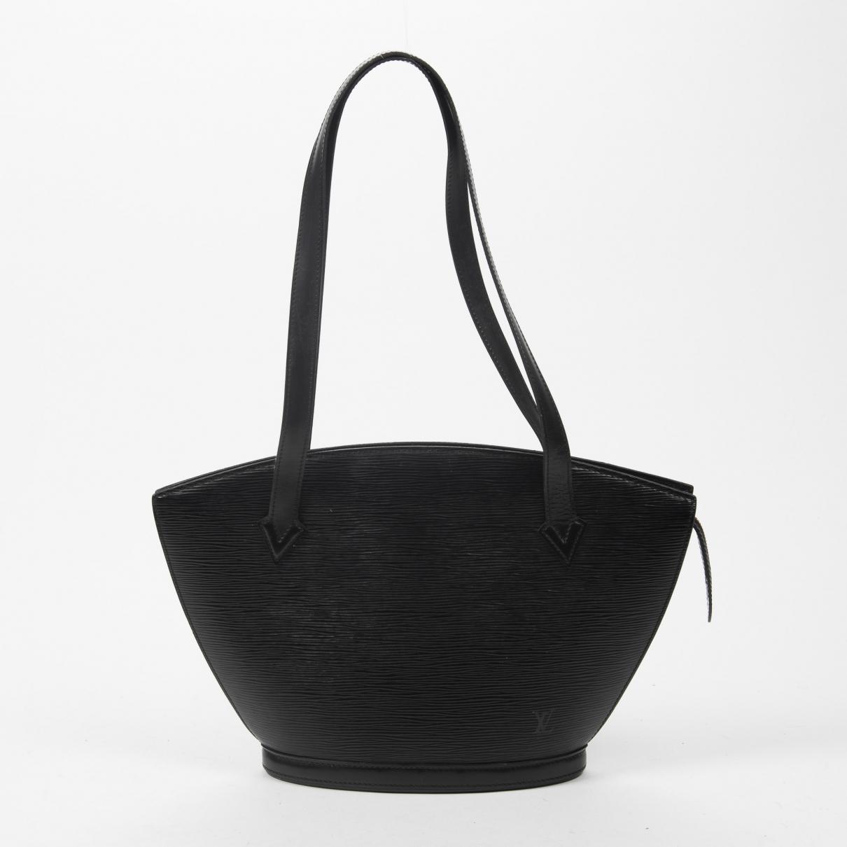 Louis Vuitton Saint Jacques Handtasche in  Schwarz Leder