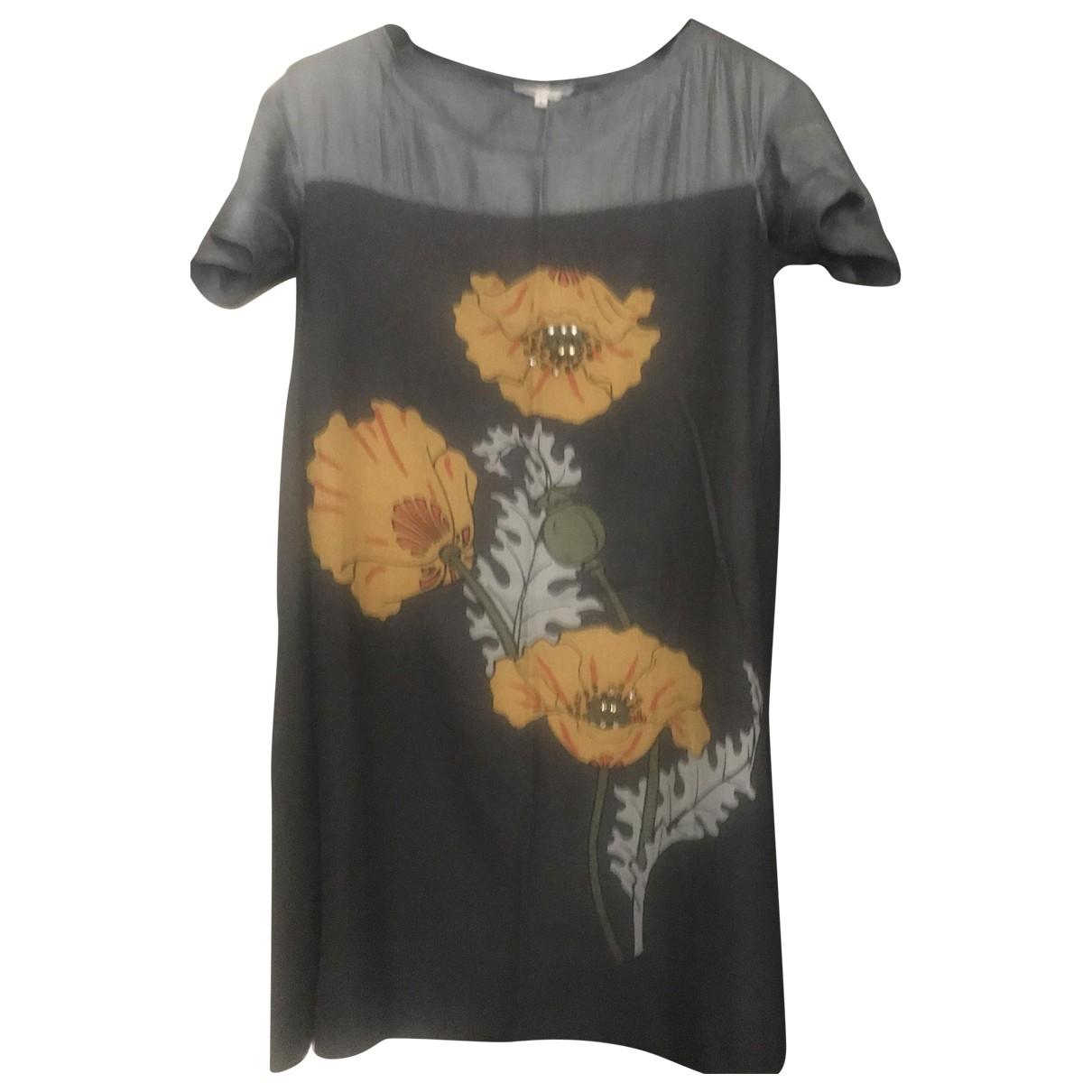 Maje \N Grey Linen dress for Women L International