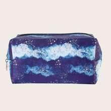 Star Pattern Makeup Bag