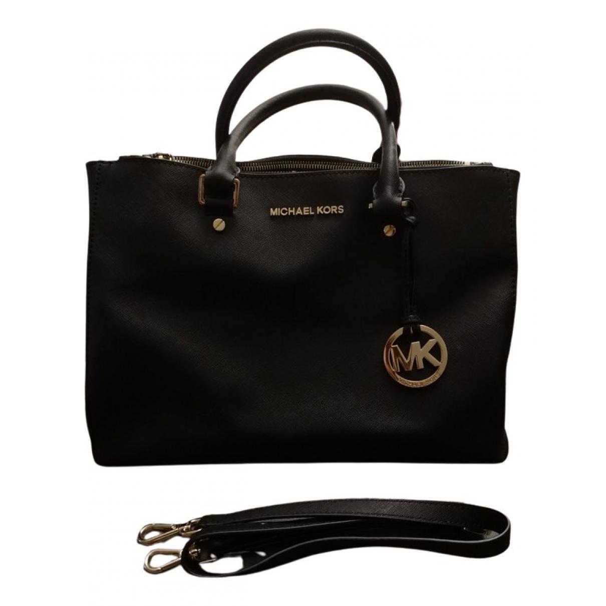 Michael Kors Sutton  Black Leather handbag for Women \N