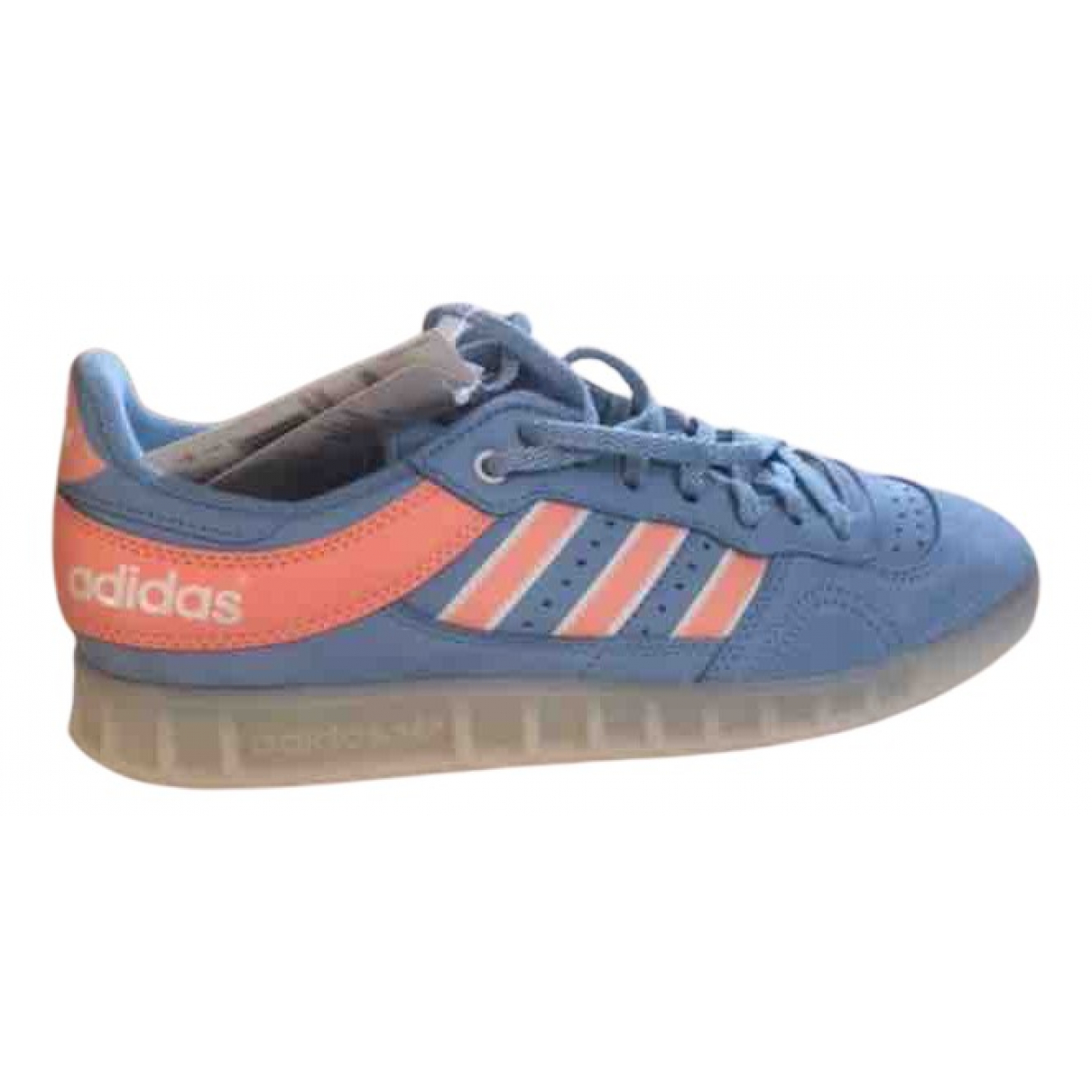 Adidas N Blue Leather Trainers for Men 42 EU