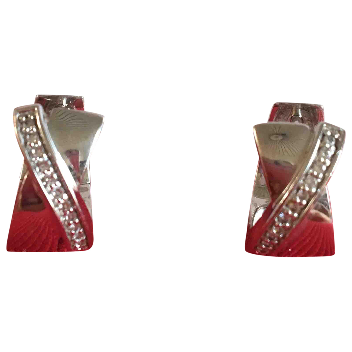 Pierre Cardin \N OhrRing in  Silber Silber