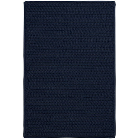 Colonial Mills Nantucket Reversible Braided Indoor/Outdoor Rectangular Rug, One Size , Blue