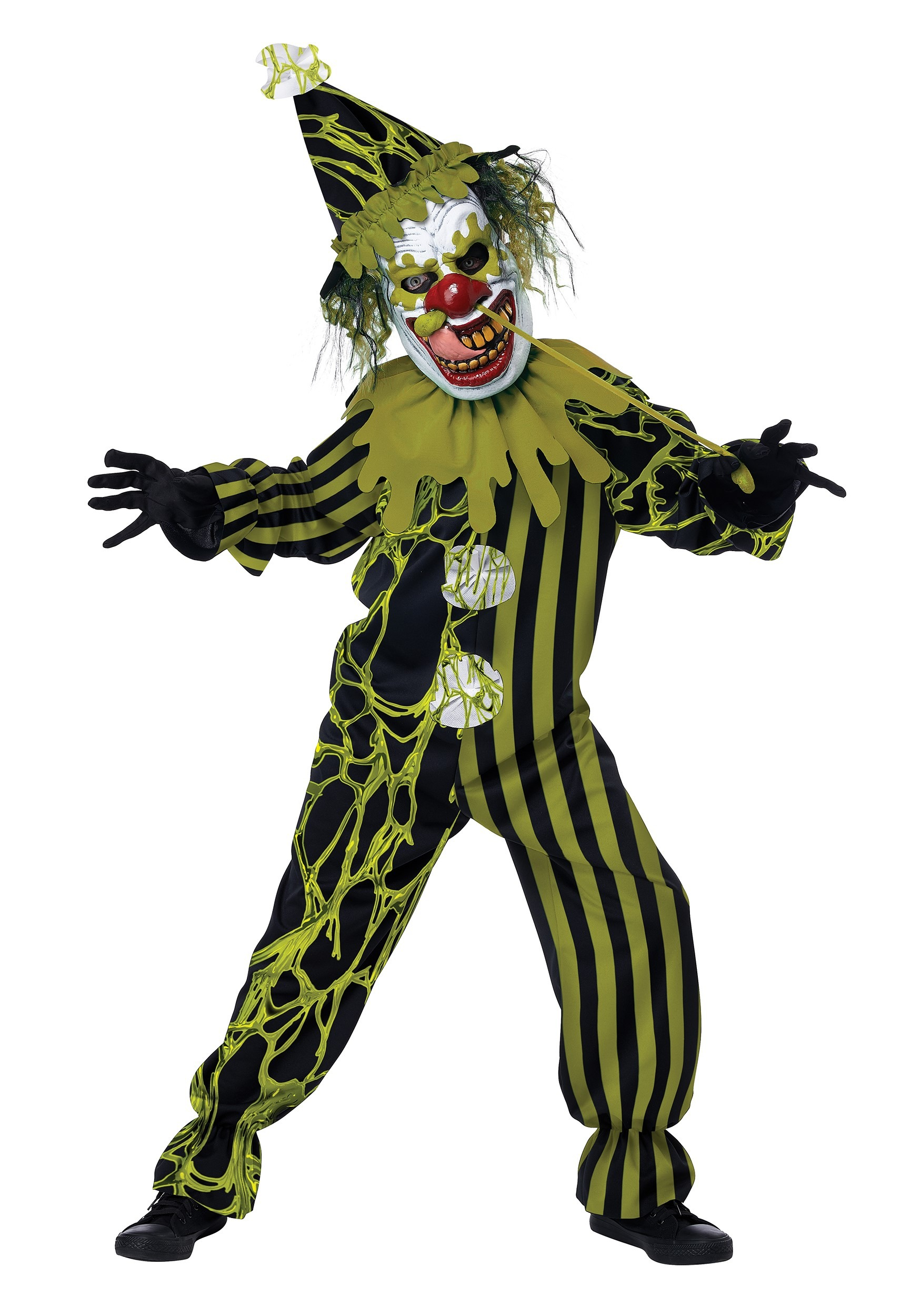Boogers The Clown Boy's Costume