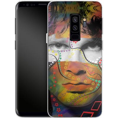 Samsung Galaxy S9 Plus Silikon Handyhuelle - Rockstar von Mark Ashkenazi