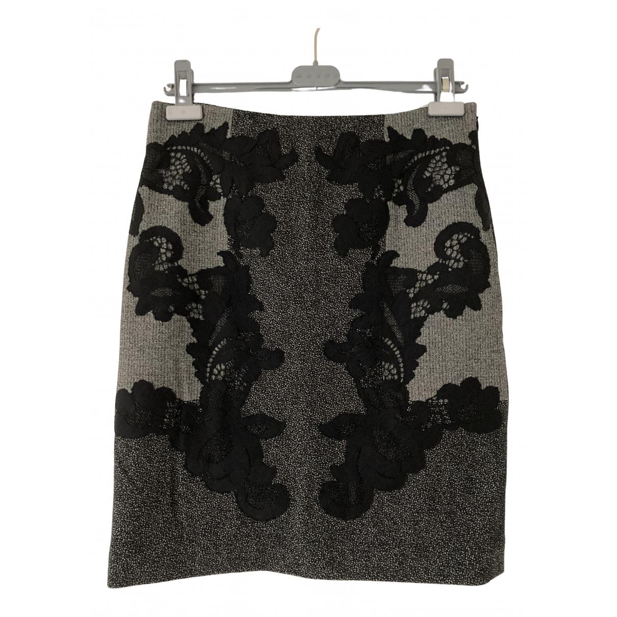 Diane Von Furstenberg - Jupe   pour femme en laine - gris