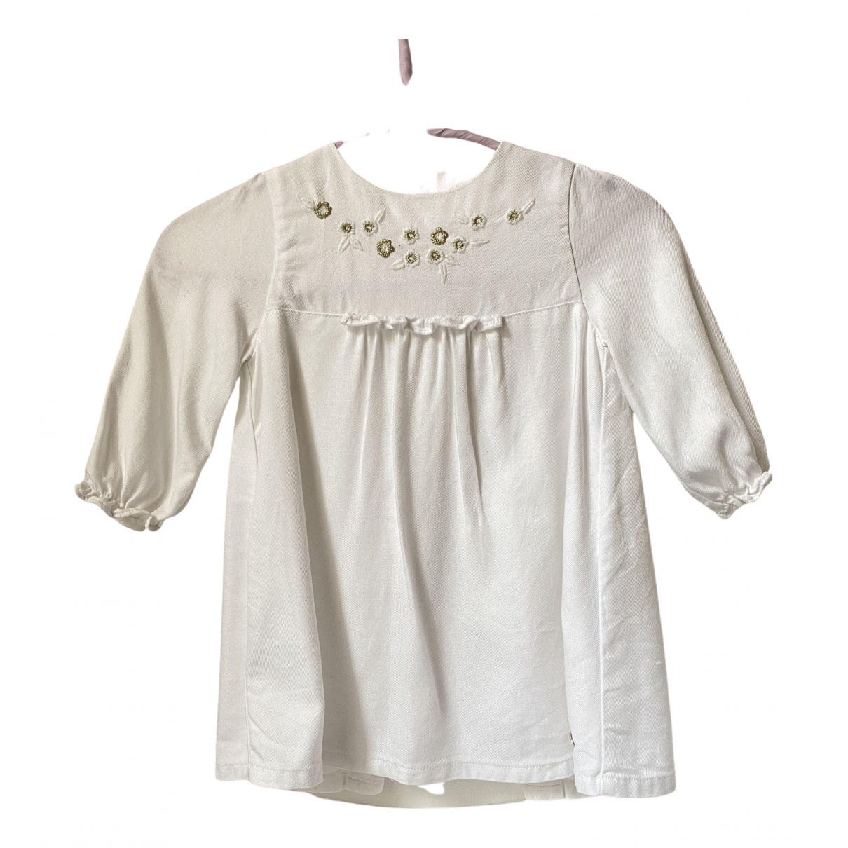 Tartine Et Chocolat - Robe    pour enfant en coton - blanc