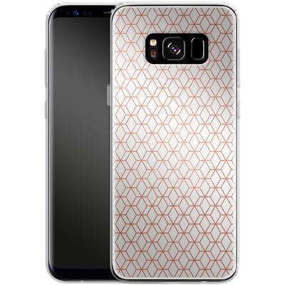 Samsung Galaxy S8 Silikon Handyhuelle - Morning Pattern von #basic