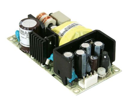 Mean Well , 60W Embedded Switch Mode Power Supply SMPS, 15V dc, Open Frame, Medical Approved